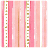 Magic! - Stars & Stripes in Pink - Yardage